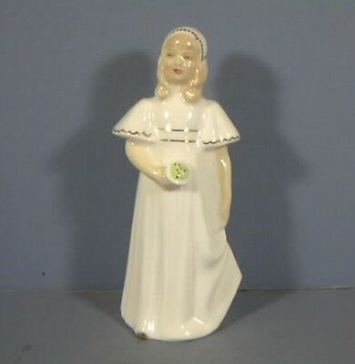 "5.5"" Figurine, Titled, Bridesmaid, HN2874, By Royal Doulton, COPR.1979, Estate C"