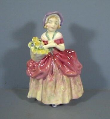 "5"" Figurine, Titled, Cissie, HN1809, By Royal Doulton, COPR.1937, Estate Col"