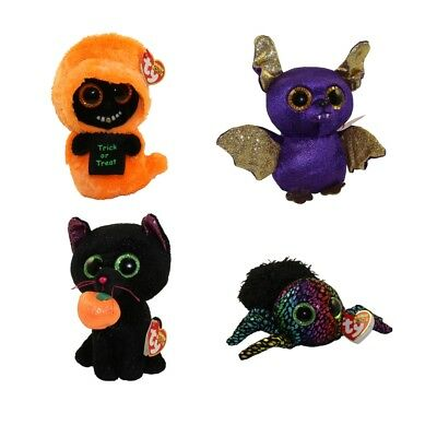- MWMTs Medium Size - 9 inch SET of 3 Halloween 2018 Releases TY Beanie Boos