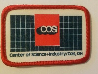 Vintage COSI Ohio's Center of Science & Industry Columbus Museum Patch