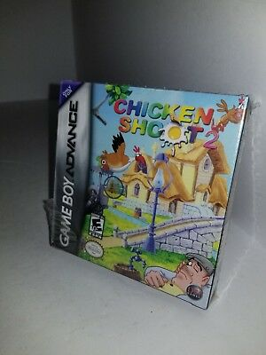 NEW Sealed Chicken Shoot 2 Game for (Nintendo Game Boy Advance, 2005) K13