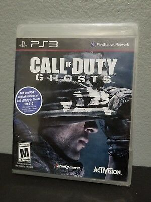Call of Duty Ghosts Sony PlayStation 3 PS3 New Factory Sealed S13