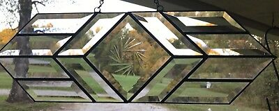 Beveled Stained Glass Mission Panel