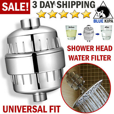 Universal Shower Head Filter Hard Water Softener Multi-Stage Filtration System
