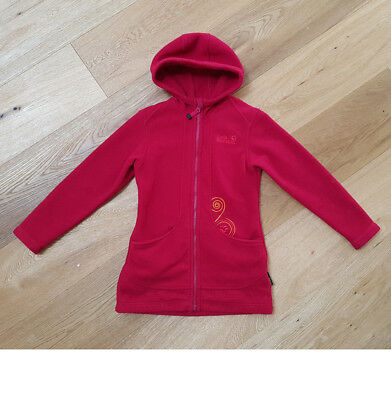 discount shop new high buy sale JACK WOLFSKIN KUSCHELIGER FLEECEMANTEL Gr.128 Fleecejacke ...