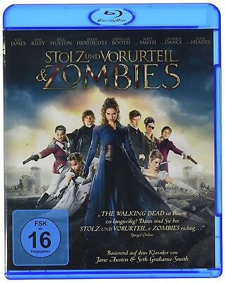 Blu-ray - Stolz and Vorurteil & Zombies #Limited Edition DE EN/GER NEW & BOXED