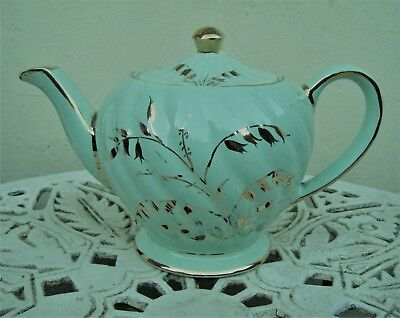 Vintage Sadler Lilly Of The Valley 2 Pint Teapot