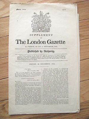 World War One British Battle Of The Somme Combat Report 1916