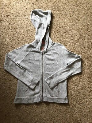 Pre-owned Crewcuts Girls Zipped Sweatshirt Hoodie Size 8