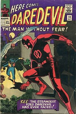 Daredevil # 10 - 1St Appearance The Organizer And His Ani-Men - Wally Wood Art