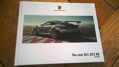 HB Brochure new PORSCHE 911 GT2 RS 2017/06  - English