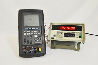 Fluke 2190A Reference Digital Thermometer with options 002, 004 & 006 CALIBRATED
