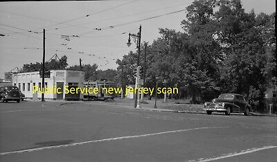 Public Service Of New Jersey (Psnj) Original B&w Trolley Negative Of Car 2720