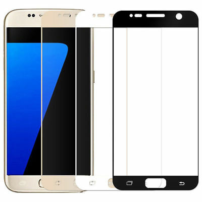 Full Cover Tempered Glass Film Screen Protector For Samsung Galaxy J7 PRO 2017