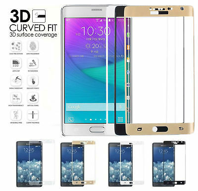 3D Full Cover Tempered Glass Film Screen Protector For Samsung Galaxy Note 5