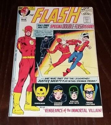 The Flash #213 (DC, Mar 1972) Vandal Savage & Jay Garrick- Silver Age Collection