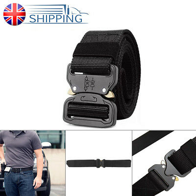 """Cobra Belt Heavy-Duty Tactical Tall Durable 1.5"""" and Training Big Quick-Release"""