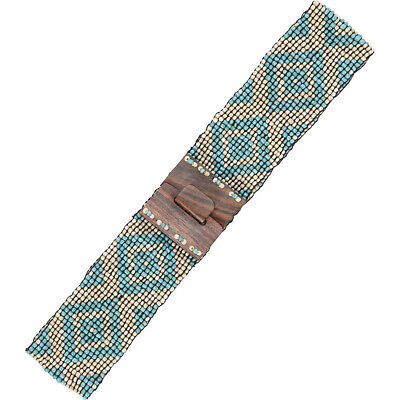 TLC&you Stretch Beaded Belt - One Size Other Fashion Accessorie NEW