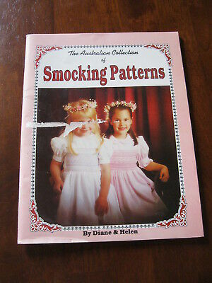 The Australian Collection of Smocking Patterns: By Diane & Helen:1987 :Preloved