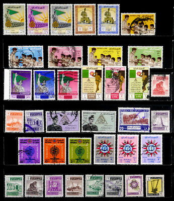 Iraq: 1960's Stamp Collection With Sets
