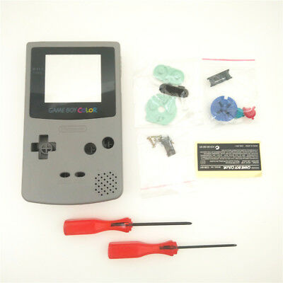 SFC SNES Model Grey Housing Shell Case for Game Boy Color GBC