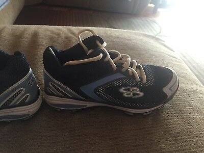 c68fd4a1ed51 NEW BOOMBAH MEMORIAL Day Catalyst Molded Cleats Black White Red USA ...