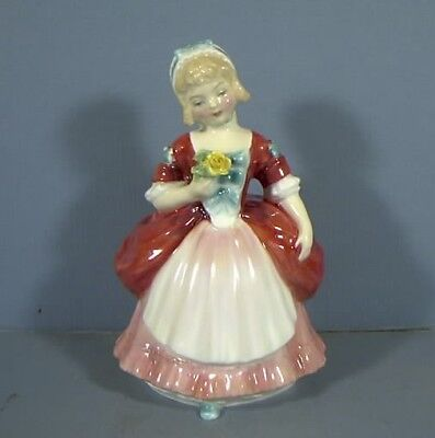 "5"" Figurine, Titled, Valerie, HN2107, By Royal Doulton, COPR.1952, Estate Col"