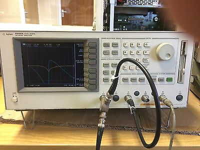 HP AGILENT KEYSIGHT E5100A High-Speed Network Analyzer 10 kHz-180 MHz Analyser