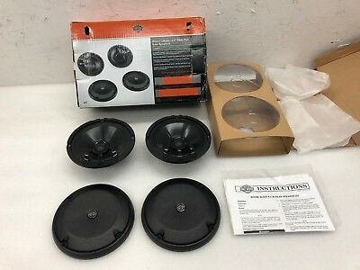 "NEW IN BOX Harley Davidson Boom! Audio 6.5"" Tour-Pak Rear Speakers"