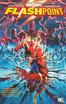 The Flash: Flashpoint Softcover Graphic Novel