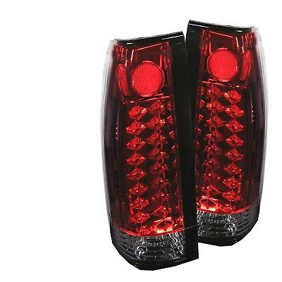 Spyder Auto ALT-YD-CCK88-LED-RC LED Tail Lights-Red Clear fit GMC Denali