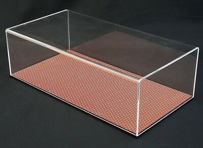 1:18 Replicarz Indy Display Case with Brick Base - 13L x 6.75W x 4.5H