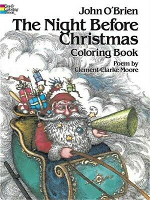 The Night Before Christmas Coloring Book (Paperback or Softback)