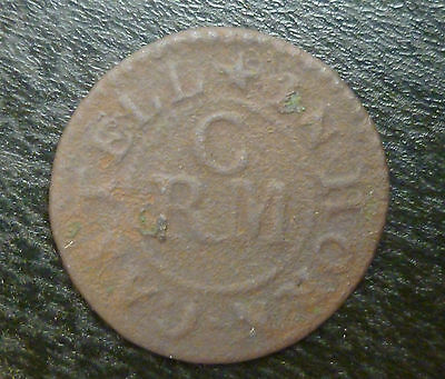 Lincolnshire Horncastle 17th Century Farthing Token W122 1/4d Richard Cater Rare