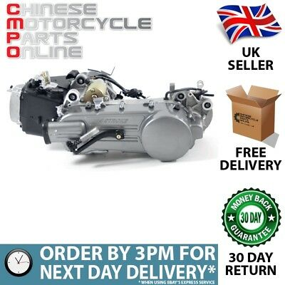 125cc Scooter Engine 152QMI with 450mm Case, Long Shaft (ENG012)