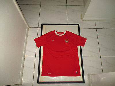 2827f1ee757 ARSENAL FC NIKE JERSEY MENS LARGE RARE MINT football soccer england team  top vtg