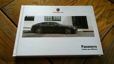 Brochure PORSCHE PANAMERA 03/2017 : catalogue rigide 174 p. FR