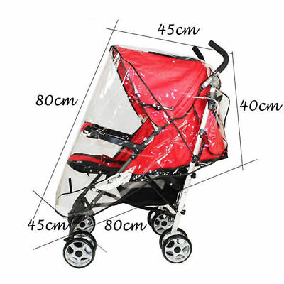 Universal Rain Cover For Mothercare Pram, Stroller, Carrycot Range Push Chair