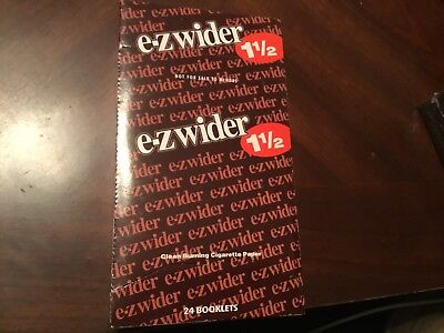 EZ Wider(12 Packs)Of Rolling Papers 1 1/2*1.5