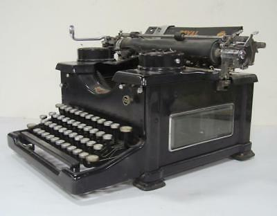 Royal 10 Typewriter with Glass Sides SN # S-1636139 - for parts repairs props