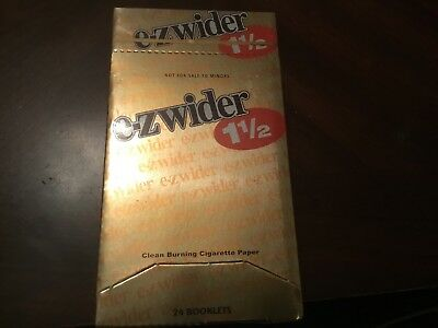 EZ Wider Gold Light (12 Packs)Of Rolling Papers 1 1/2*1.5