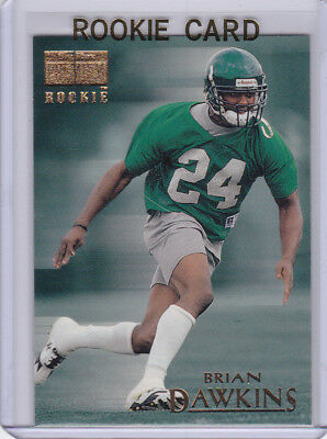 BRIAN DAWKINS ROOKIE CARD 1996 Fleer Skybox Philadephia EAGLES NFL Football RC