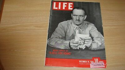 1944 Life Magazine December 18   Fredric March  High Grade Lowest Price On Ebay