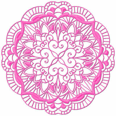 Intertwined Circles 10 Machine Embroidery Designs 3 Sizes