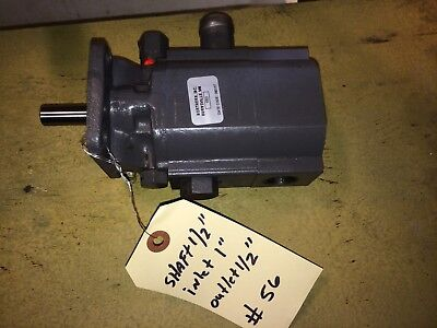 Northern Tool/Concentric 105313.6 GPM 2-Stage Hi-Lo, Hydraulic Gear Pump