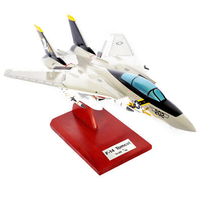 New Historical F-14A Tomcat VF-84 Jolly Rogers 1/48 Hand carved wood Guaranteed