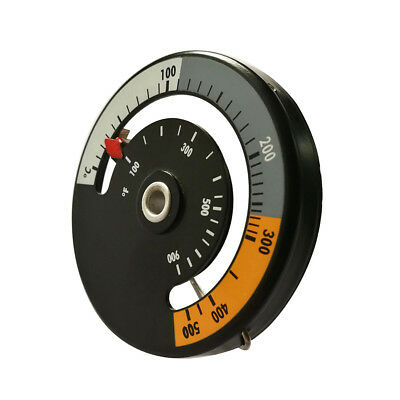Magnetic Stove Flue Pipe Thermometer Oven Temperature Gauge Wood Burner Faddish
