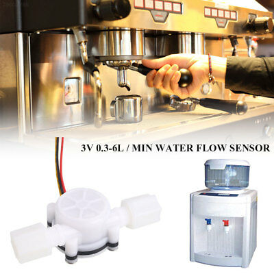 A8F3 0.3-6l/Min Transducer Flowmeter Water Control Garden Coffee Water Testing