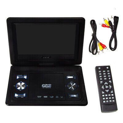 "13.9"" HD TV Portable DVD Player 16:9 LCD 270° Swivel Screen With Remote +Handle"