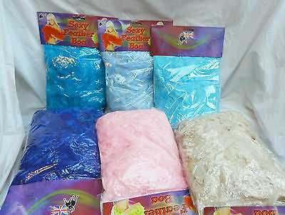 Feather Boa - Assorted Colours -  84 inches - 200cm - BNIB